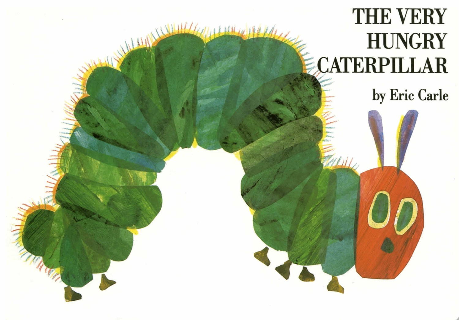 The Very Hungry Caterpillar (BD)