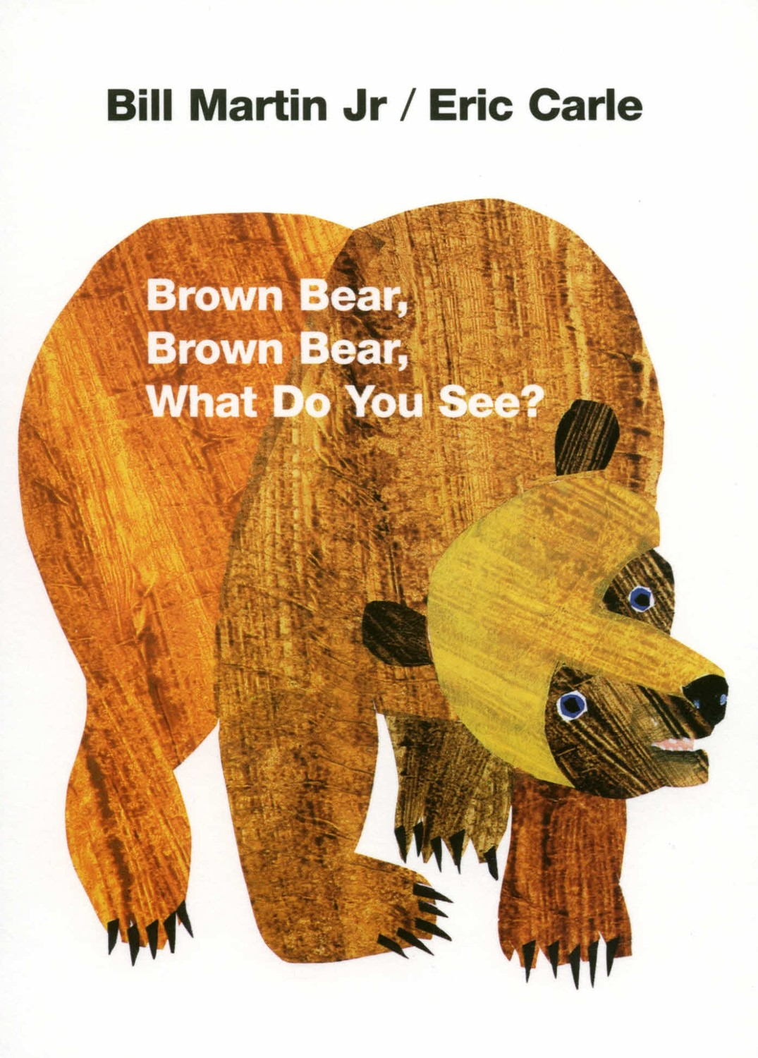 Brown Bear, Brown Bear, What Do You See? (HC/CD)