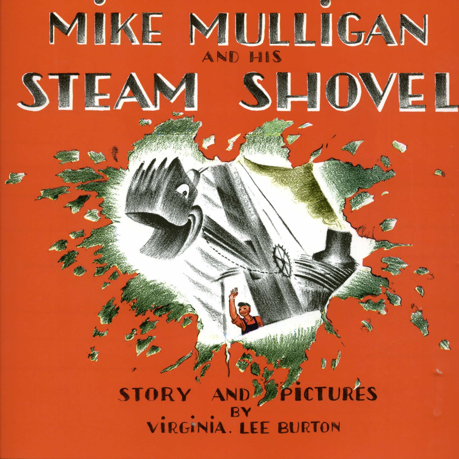 Mike Mulligan and His Steam Shovel (HC)