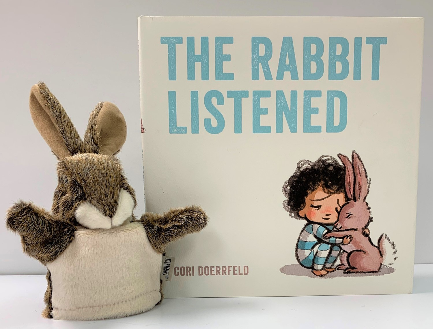 Rabbit Listened and Little Hare Puppet