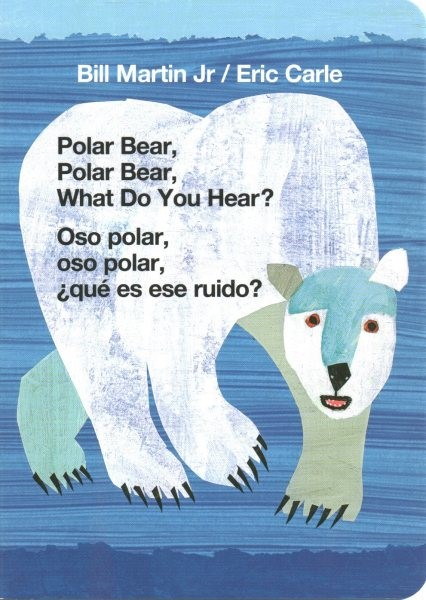 Polar Bear...What Do You Hear? / Oso polar..que es ese ruido?