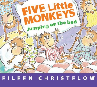 Five Little Monkeys Jumping on the Bed (BD)