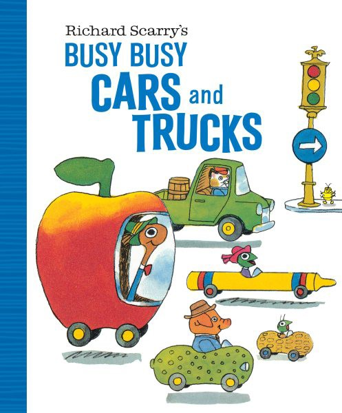 Richard Scarry's Busy Busy Cars and Trucks (BD)