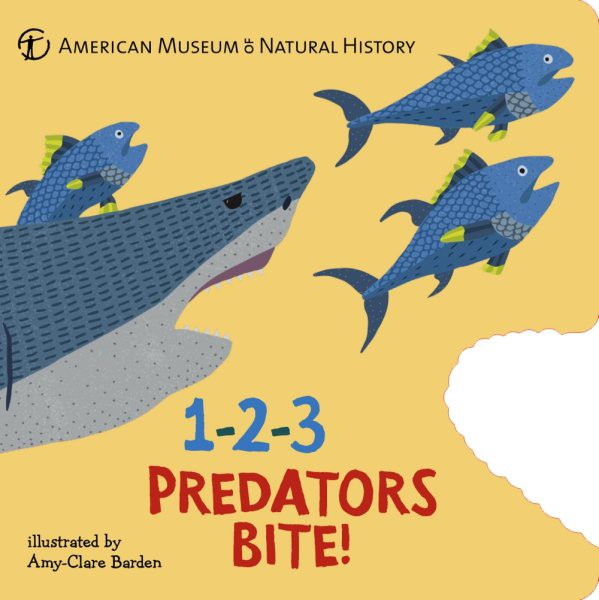 1-2-3 Predators Bite!: An Animal Counting Book (BD)