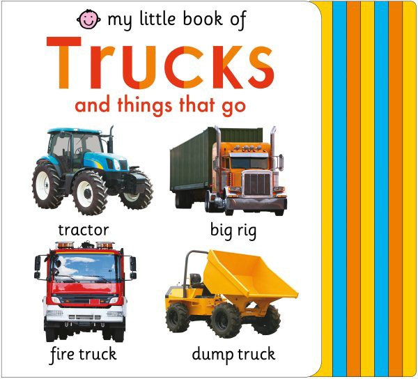 My Little Book of Trucks and Things That Go (BD)