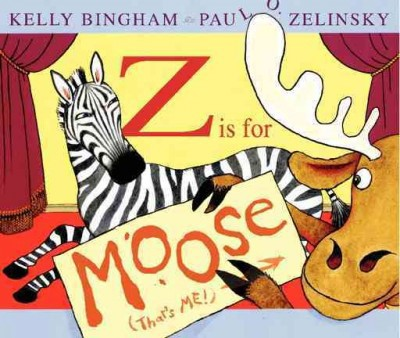 Z Is for Moose (HC)