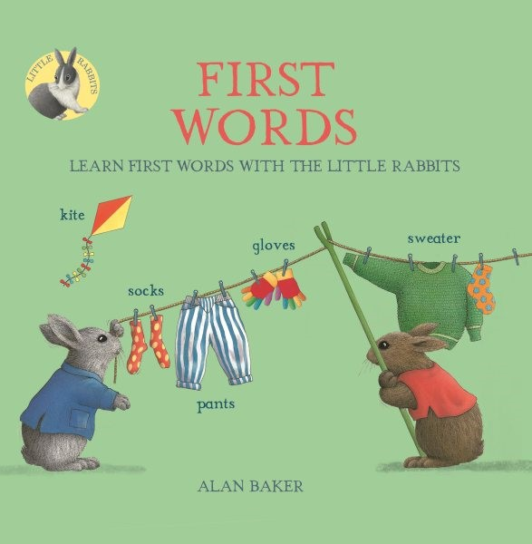 First Words: Learn First Words with the Little Rabbits (HC)