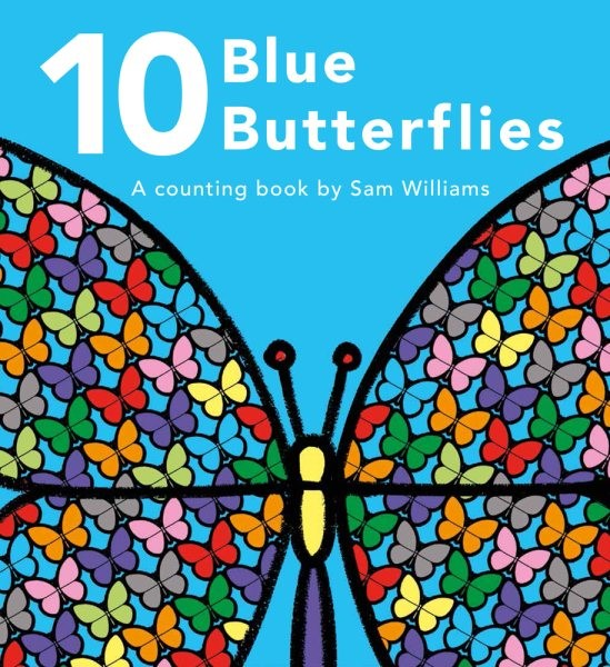 10 Blue Butterflies (HC)